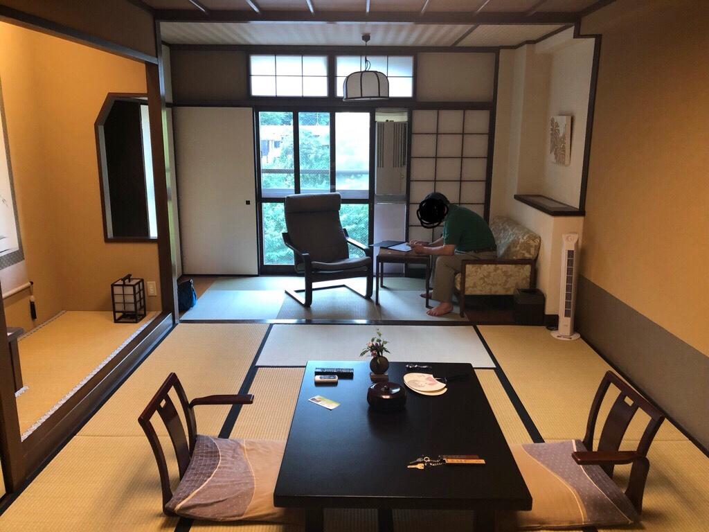 草津温泉 奈良屋 客室