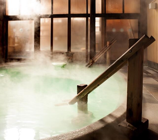 草津温泉 奈良屋 大浴場