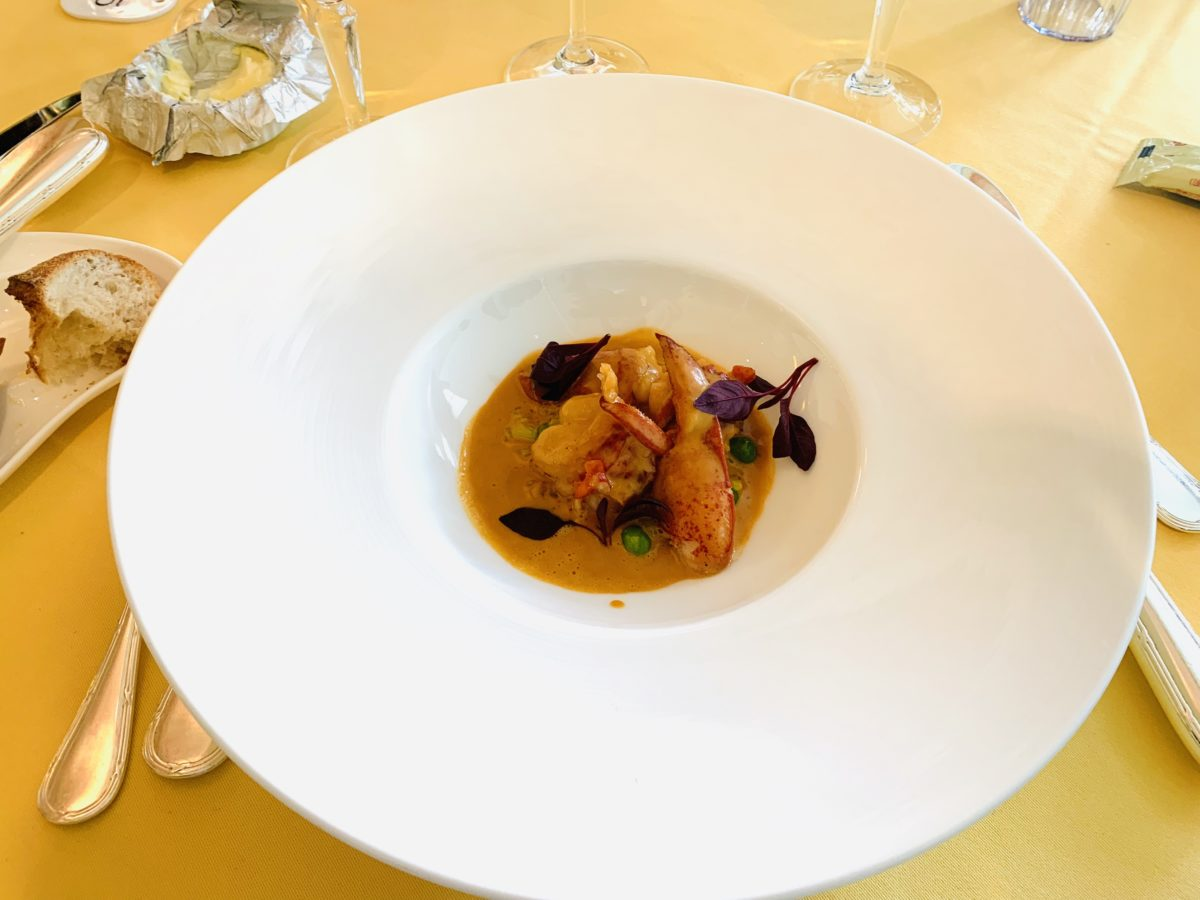クイーンアリス 魚介料理