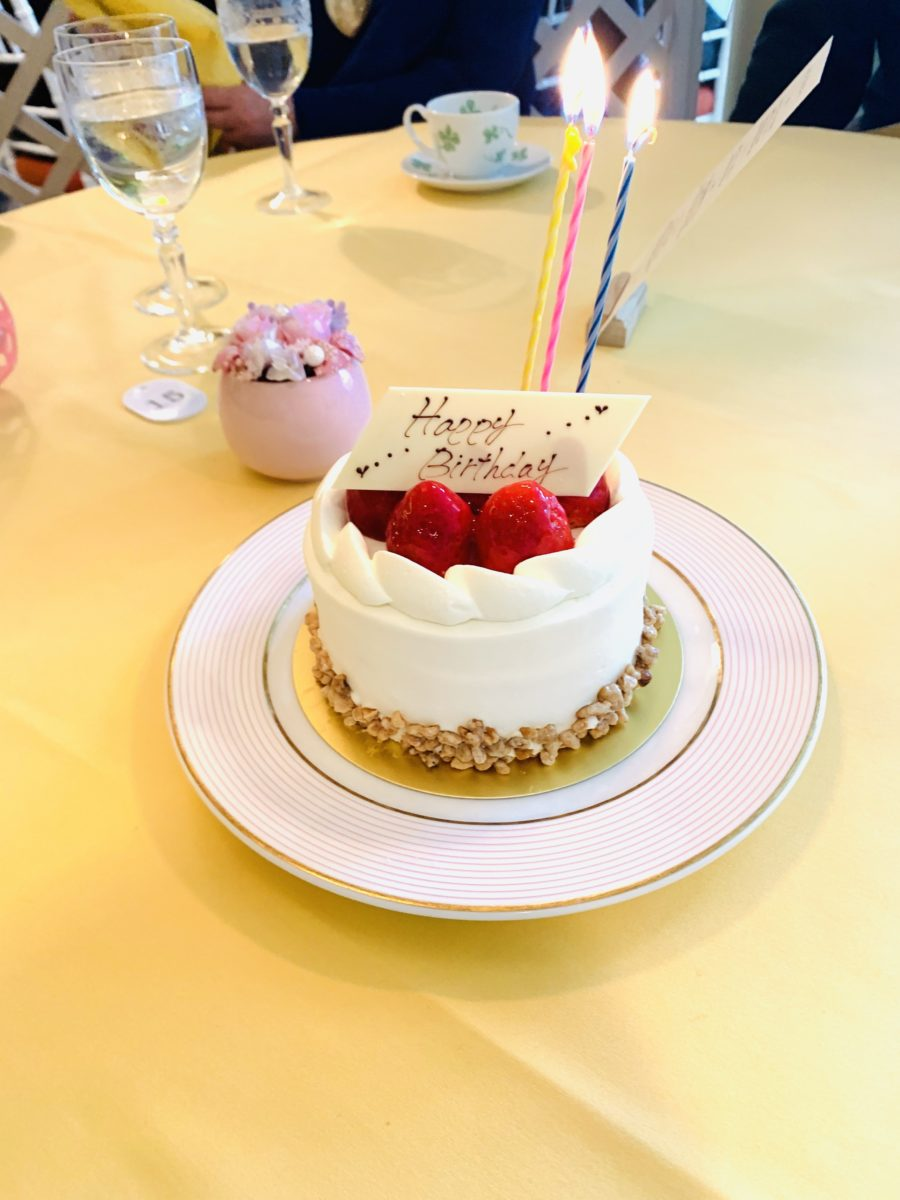 クイーンアリス バースデーケーキ