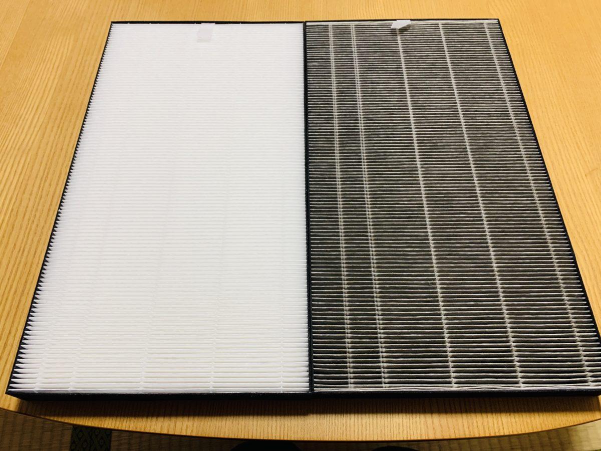 空気清浄機の集塵フィルターの比較